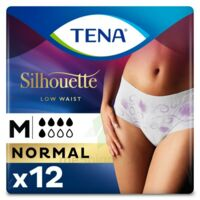 Tena Lady Silhouette Slip Absorbant Blanc Normal Médium Paquet/12 à NOROY-LE-BOURG