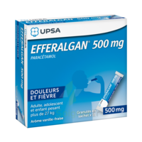 Efferalgan 500 Mg Glé En Sachet Sach/16 à NOROY-LE-BOURG
