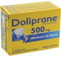 DOLIPRANE 500 mg Poudre pour solution buvable en sachet-dose B/12 à NOROY-LE-BOURG