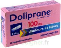 DOLIPRANE 100 mg Suppositoires sécables 2Plq/5 (10) à NOROY-LE-BOURG