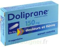 DOLIPRANE 150 mg Suppositoires 2Plq/5 (10) à NOROY-LE-BOURG