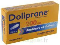 Doliprane 200 Mg Suppositoires 2plq/5 (10) à NOROY-LE-BOURG
