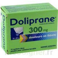 DOLIPRANE 300 mg Poudre pour solution buvable en sachet-dose B/12 à NOROY-LE-BOURG