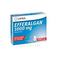Efferalgan 1000 mg Comprimés pelliculés Plq/8 à NOROY-LE-BOURG