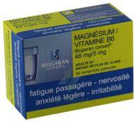 Magnesium/vitamine B6 Biogaran Conseil 48 Mg/5 Mg, Comprimé Pelliculé à NOROY-LE-BOURG