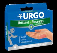URGO BRULURES-BLESSURES PETIT FORMAT x 6 à NOROY-LE-BOURG