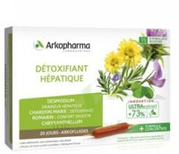 Arkofluide Bio Ultraextract Solution buvable détoxifiant hépatique 20 Ampoules/10ml à NOROY-LE-BOURG