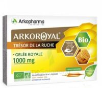 Arkoroyal Gelée Royale Bio 1000 Mg Solution Buvable 20 Ampoules/10ml à NOROY-LE-BOURG