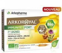 Arkoroyal Immunité Fort Solution Buvable 20 Ampoules/10ml à NOROY-LE-BOURG