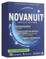 Novanuit Triple Action Comprimés B/30 à NOROY-LE-BOURG