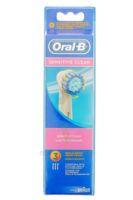 BROSSETTE DE RECHANGE ORAL-B SENSITIVE CLEAN x 3 à NOROY-LE-BOURG