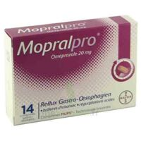Mopralpro 20 Mg Cpr Gastro-rés Film/14 à NOROY-LE-BOURG