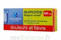 Ibuprofene Biogaran Conseil 400 Mg, Comprimé Pelliculé à NOROY-LE-BOURG
