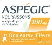Aspegic Nourrissons 100 Mg, Poudre Pour Solution Buvable En Sachet-dose à NOROY-LE-BOURG