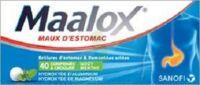 Maalox Hydroxyde D'aluminium/hydroxyde De Magnesium 400 Mg/400 Mg Cpr à Croquer Maux D'estomac Plq/40 à NOROY-LE-BOURG