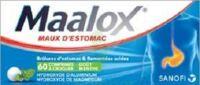 MAALOX HYDROXYDE D'ALUMINIUM/HYDROXYDE DE MAGNESIUM 400 mg/400 mg Cpr à croquer maux d'estomac Plq/60 à NOROY-LE-BOURG