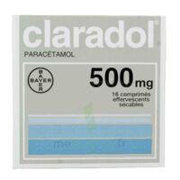 CLARADOL 500 mg, comprimé effervescent sécable à NOROY-LE-BOURG