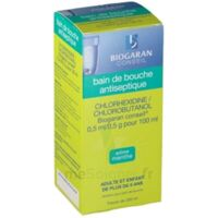 Chlorhexidine/chlorobutanol Biogaran Conseil 0,5 Ml/0,5 G Pour 100 Ml, Solution Pour Bain De Bouche Fl/200ml à NOROY-LE-BOURG