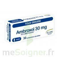 AMBROXOL EG LABO CONSEIL 30 mg, comprimé sécable à NOROY-LE-BOURG