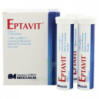 Eptavit 1000 Mg/880 U.i., Comprimé Effervescent T/90 à NOROY-LE-BOURG