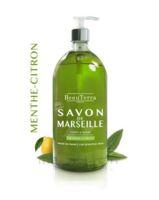 Beauterra - Savon de Marseille liquide - Menthe/Citron 1L à NOROY-LE-BOURG