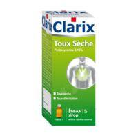 CLARIX TOUX SECHE PENTOXYVERINE 0,15 % ENFANTS, sirop à NOROY-LE-BOURG