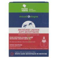 Moustikologne Recharge Diffuseur Anti-moustiques Liquide 45 Nuits à NOROY-LE-BOURG