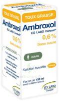 Ambroxol Eg Labo Conseil 0,6 %, Solution Buvable à NOROY-LE-BOURG