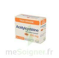 ACETYLCYSTEINE EG 200 mg, poudre pour solution buvable en sachet-dose à NOROY-LE-BOURG