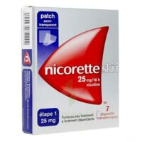 Nicoretteskin 25 mg/16 h Dispositif transdermique B/28 à NOROY-LE-BOURG