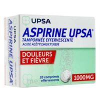 ASPIRINE UPSA TAMPONNEE EFFERVESCENTE 1000 mg, comprimé effervescent à NOROY-LE-BOURG