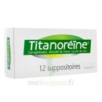 TITANOREINE Suppositoires B/12 à NOROY-LE-BOURG