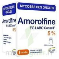 AMOROLFINE EG 5 % V ongles médicamenteux 1Fl/2,5ml+10 spat à NOROY-LE-BOURG