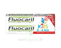 Fluocaril Kids Gel dentifrice Fraise 0/6ans 2*50ml à NOROY-LE-BOURG