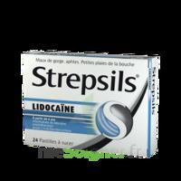 Strepsils lidocaïne Pastilles Plq/24 à NOROY-LE-BOURG