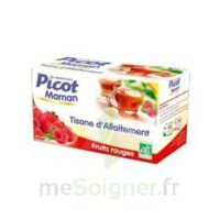 Picot Maman Tisane d'allaitement Fruits rouges 20 Sachets à NOROY-LE-BOURG