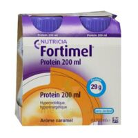 Fortimel Protein Nutriment caramel 4 Bouteilles/200ml à NOROY-LE-BOURG