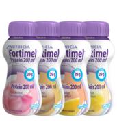 Fortimel Protein Nutriment Multi Saveurs Caramel/vanille/fraise/mangue 4 Bouteilles/200ml à NOROY-LE-BOURG