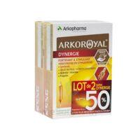 Arkoroyal Dynergie Ginseng Gelée royale Propolis Solution buvable 2B/20 Ampoules/10ml à NOROY-LE-BOURG