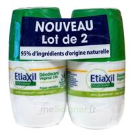 Etiaxil Végétal Déodorant 24h 2roll-on/50ml à NOROY-LE-BOURG