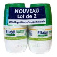Etiaxil Végétal Déodorant 24H 2Roll-on/50ml à NOROY-LE-BOURG