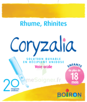 Boiron Coryzalia Solution Buvable Unidose B/20 à NOROY-LE-BOURG