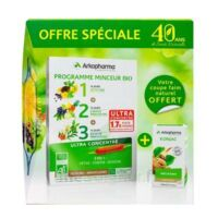 Arkofluides Programme Minceur Bio 30 ampoules/10ml + Arkogélules Konjac B/45 Offre spéciale 40 ans de santé naturelle à NOROY-LE-BOURG